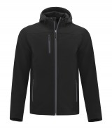 Essential Hooded Soft Shell Jacket