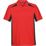 Men's Match Two-Tone Technical Polo