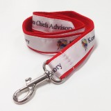Digital Sublimated Web Woven Lanyards - 1""