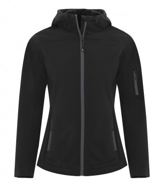 Essential Hooded Soft Shell Ladies Jacket