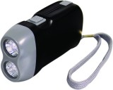 2 Led Hand Press Flashlight