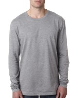 Men's Premium Fitted Long-Sleeve Crew Tee