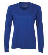 Pro Team Long Sleeve Ladies' V-Neck Tee