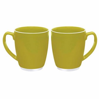 Large Colour Bistro with Accent Mug - 20oz.