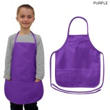 Twill Kids Apron 2 Pockets