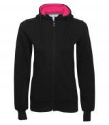 Pro Fleece Full Zip Ladies' Hooded Sweatshirt