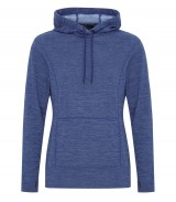 Dynamic Heather Fleece Hooded Ladies' Sweatshirt