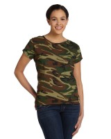 Fine Jersey Camouflage T-Shirt