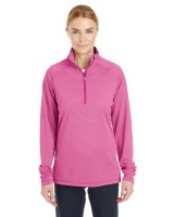 Ladies' Corp Stripe Quarter Zip