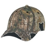 Constructed Contour Distressed Cap