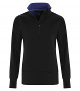 Lifestyle Fleece 1/2 Zip Ladies Sweatshirt