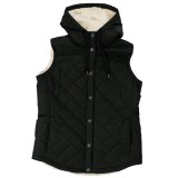 Women's Quilted Sherpa Lined Vest