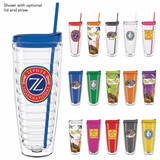 Double Wall Ringed Tumbler - 26oz