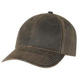 Weathered Polycotton Full Fit Cap