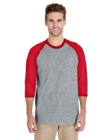 Heavy Cotton Adult 3/4 Raglan T-Shirt