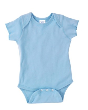 Baby Rib Lap Shoulder Bodysuit 4400 Rabbit Skins