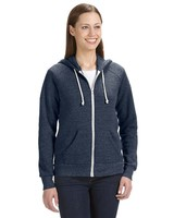 Ladies' Eco Fleece Triblend Adrian Full Zip Hoodie