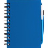 Plastic Cover Notebook w/ Matching BIC Media Clic