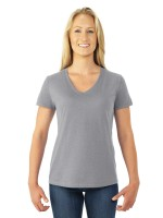Heavy Cotton HD Ladies V-Neck T-Shirt