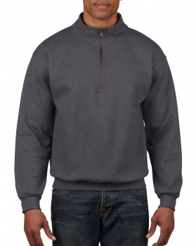 Heavy Blend Vintage 1/4 Cadet Collar Sweatshirt