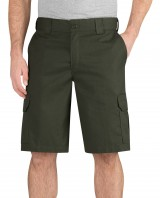 "11"" Regular Fit Mechanical Stretch Cargo Short"