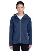 Ladies' Excel Melange Performance Fleece Jacket