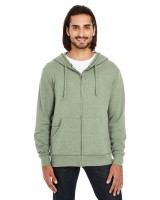 Unisex Triblend French Terry Full-Zip