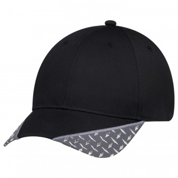 Diamond Pattern 6 Panel Constructed Full-Fit