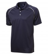 Textured Sport Shirt With Piping