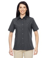 Ladies Advantage Snap Closure Short Sleeve Shirt