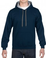 Contrasted Hoody