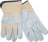 Split Leather Glove With Safety Cuffs