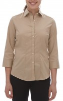 Ladies' Dress Twill Shirt 3/4 Sleeve