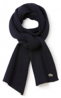 Men's Ribbed Mouliné Wool Scarf