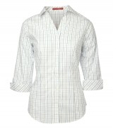 Tattersall Check Ladies' Woven Shirt