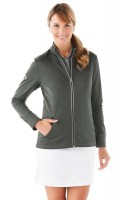 Waffle Fleece Full Zip Ladies' Jacket