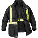 Men's Stormtech 3-In-1 Reflective Tape Parka