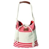 Outrigger Striped Cotton Tote
