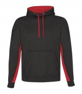 Game Day Fleece Colour Block Hooded Sweatshirt