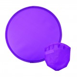 Lightweight Nylon Frisbee With Nylon Pouch