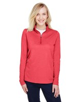 Ladies' Zone Sonic Heather Performance Quarter-Zip