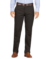 Slim Fit Flat Front Khaki Pant (Tapered Leg)