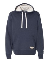 Sueded Fleece Pullover Hood