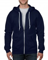 CRS Fashion Full-Zip Hooded Sweatshirt