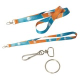 "Ez-Import 0.5"" W Sublimated Lanyard"