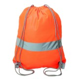 High-Viz Safety Drawstring Knapsack