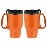 Budget Traveller Mug with Slider Lid - 16oz.