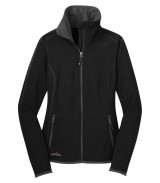 Full Zip Vertical Fleece Ladies Jacket