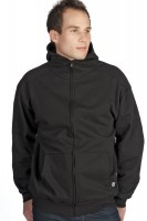 High Collar Full-Zip Hoody