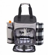 Berkeley Picnic Backpack with Cooler & Blanket